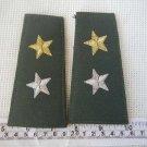 Vintage Argentina Army or Gendarmeria Uniform Epaulettes Epaulets Epaulette