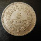 FRANCE ALUMINIUM 5 FRANCS 1946 EXCELLET Coin