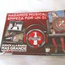 Coca Cola Advertising Postcard & Lapel Pin  IN BAG
