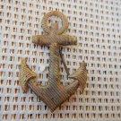Argentina Navy Anchor  Uniform Epaulette  Emblem Badge OLD