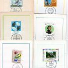 Argentina Stamps First Day Card  6 Stamps