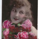 Argentina 1926 Gorgeous Young Lady Woman Postcard