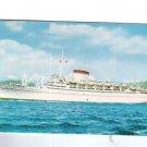 Augustus Giulio Cesare Cruise Italia Ship Line Postcard