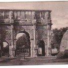 Roma Italy Italia Arco Constantino  Postcard