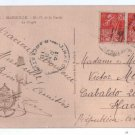 Marseille France Notre Dame DL Guarde 1930 Postcard #2
