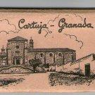 Spain España Granada CARTUJA Church Cathedral  Postcard 12 Postcards BOOKLET