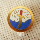 Argentina Army Mountain Climbing Trooper Enameled Beret Badge
