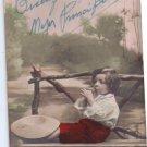 Argentina New Year 1946 Greetings Postcard Boy Chidren