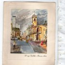 Argentina Season s Greetings Shell Advertising Schonbach Painting  Postcard