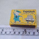 Argentina FRAGATA Brand Vintage  Matchbook Matchbox