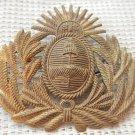 Argentina Army  Historical Regiments Visor Hat Badge ANTIQUE -