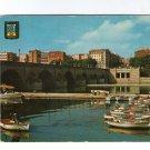 Madrid Spain España Manzanares River Wharf Port  Postcard