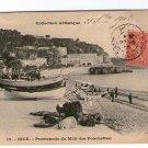 Nice Promenade Du Midi France Photo Postcard VERY OLD