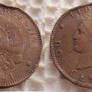 Argentina 2 Centavos 1891 Coin Coins EXCELLENT
