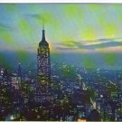New York Empire State Building at Night  Postcard