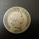 1882 SWITZERLAND 10 Rappen WONDERFUL COIN