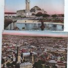France Limoges Townview Railway Station 2 Postcards SET