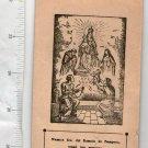 Pompei Pompeya Virgin Mary Jesus Christ Child Holy Card Print