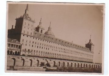 Monasterio del Escorial  España Spain 1929 PHOTOGRAPH PHOTO