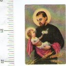 St Cayetan Cayetano Jesus Christ  Holy Card VINTAGE 3