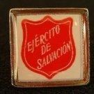 Salvation Army Ejercito de Salvacion Volunteer Pin NEW