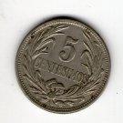 Uruguay 2 Centesimos 1936 Coin EXCELLENT