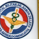 Dominican Air Force Medical Doctor De Lara Hospital Patch