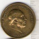 Argentina Juan B Alberdi Centennary Hommage 1910 Medal RARE
