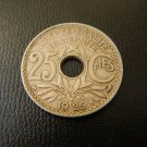 FRANCE 25 centimes 1925 EXCELLENT Coin