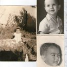 Argentina Real Photo Children Girl Boy Baby Postcard  Studio RPPC LOT OF 3