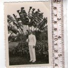 Argentina WW2 Navy Officer in Parade Uniform REAL Photo