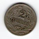 Uruguay 2 Centesimos 1924 Coin L@@K #2