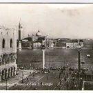 Italy Italia Venice Venecia S Marco Marcus S Giorgio Island  Old  Postcard