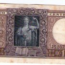 Argentina 1 PESO c1950  Bank Note Banknote Paper Money  #2