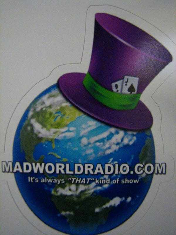MWR Vinyl Logo Sticker