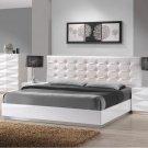 Verona Full Size Bed in White Finish