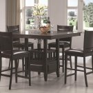100958-59 Jaden 5pc Counter Height Dining Set by Coaster