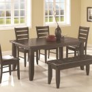 102721-22-23 Page 6 Piece Dining Set by Coaster