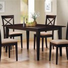 100771-74 Cappuccino Finish 5PC Dining Set
