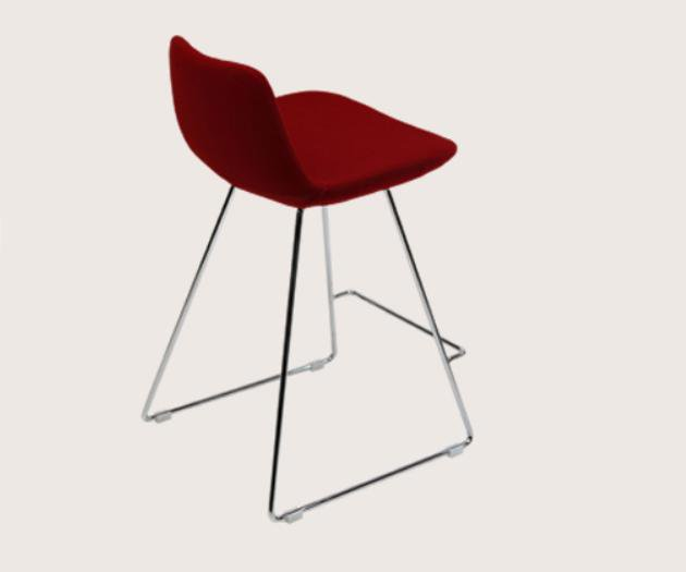 Pera Wire Bar or Counter stool in Wool by BNT