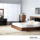 Stark Queen Size 5pc Bedroom Set  in Walnut Finish