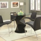 120808-89 Ophelia 5pc Counter Height Dining Set by Coaster