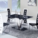 D551DT, D803DC-BL 5pc Dining Set by Global