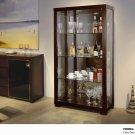 C01 Glass Door China Cabinet