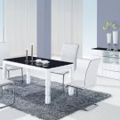 D8055DT, D490DC-WH 5pc Dining Set by Global