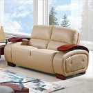 UA223 Cappuccino Bonded Leather Loveseat by Global
