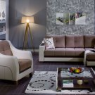 Ultra Sectional Sofa Bed Optimum Brown by Sunset