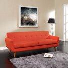 Modern Pablo Sofa Red Orange