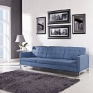 Florentino Sofa in Blue Tweed