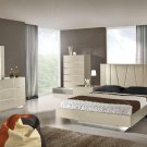 Amelia Modern Beige finish 5pc King Bedroom Set